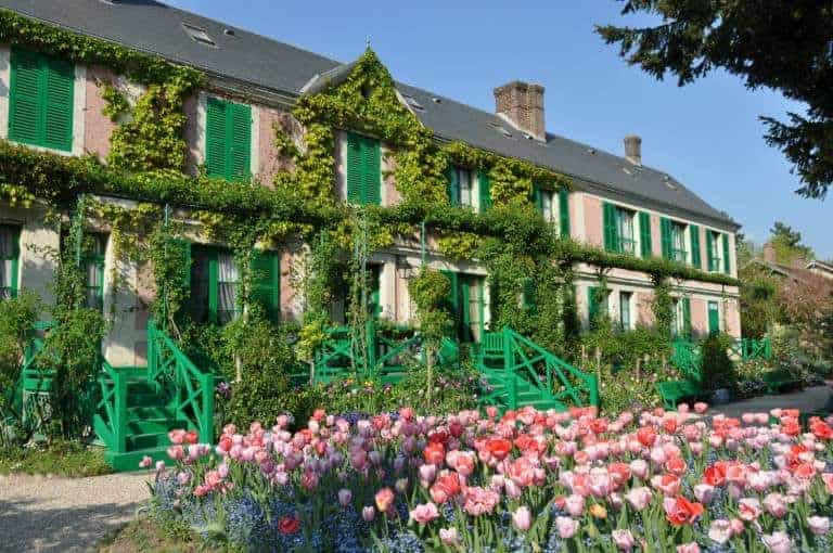 Claude Monet's home in Giverny, France