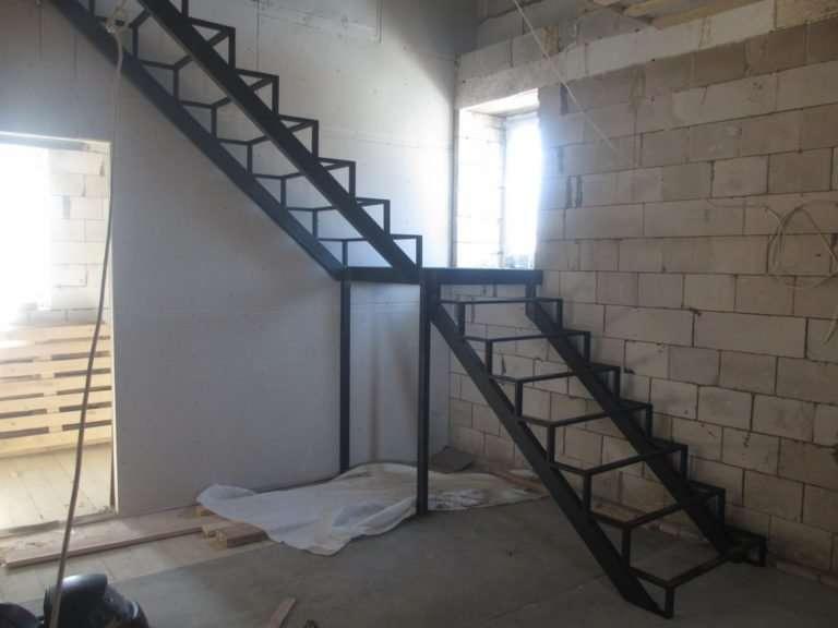 лестница на косоуре 8
