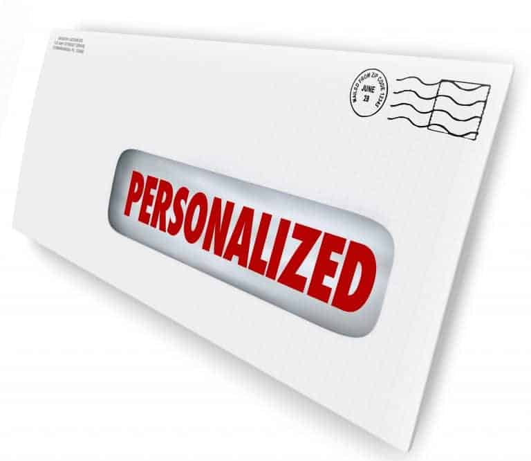 Personalized SMS Marketing