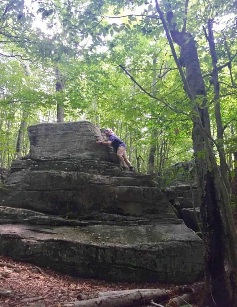 worlds end state park rock garden 1