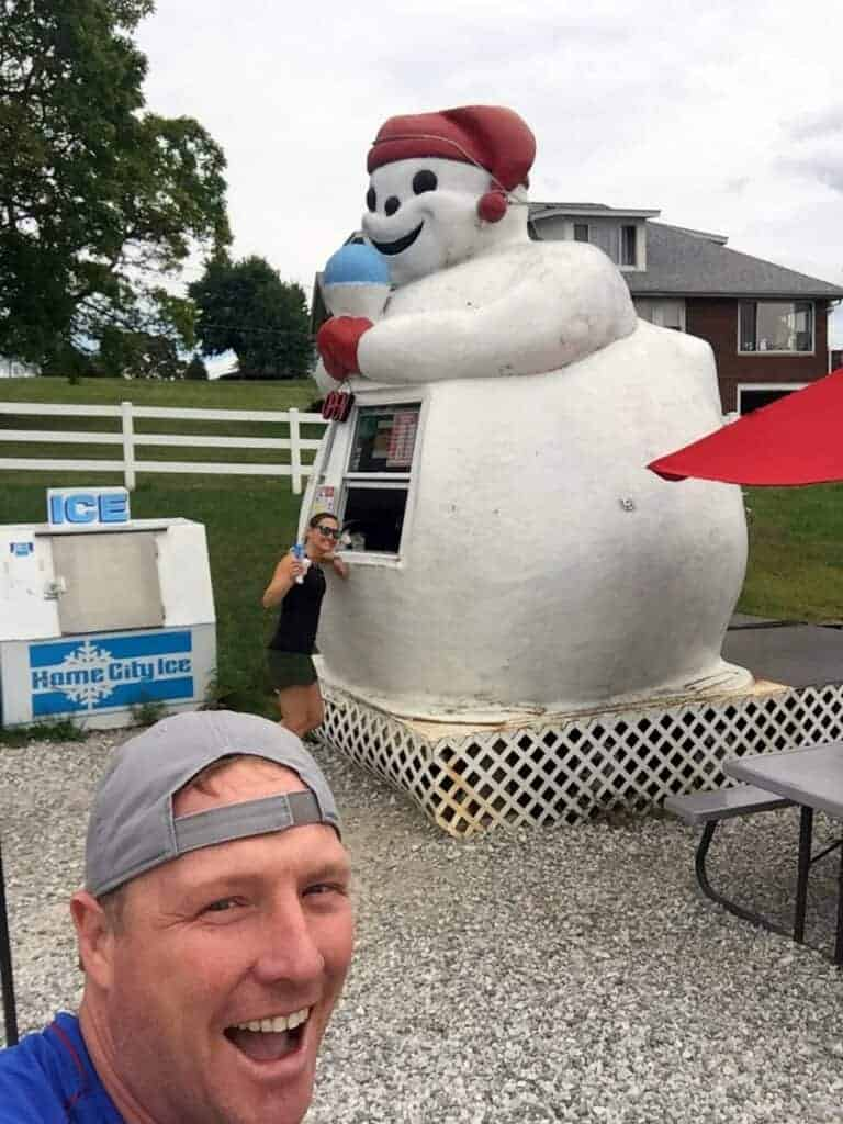 the snowman in portersville