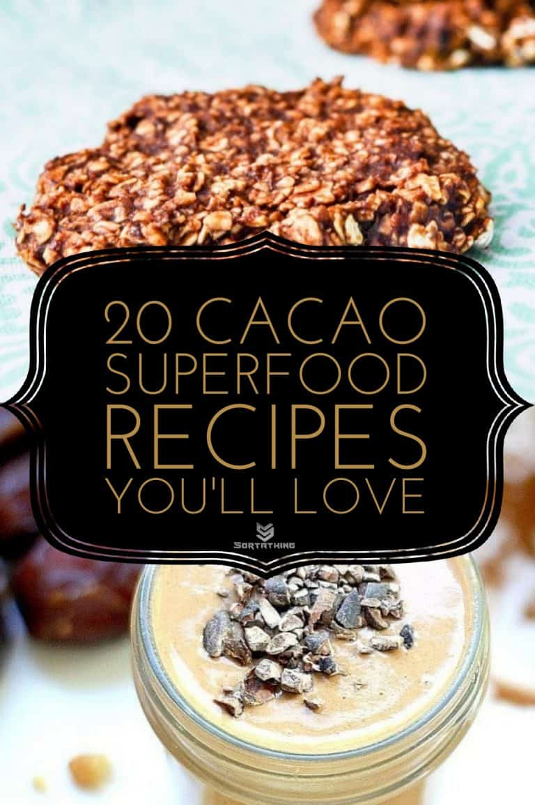 Cacao & Maca Super Cookies & Cacao Date Smoothie