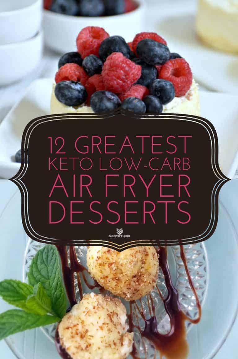 Low Carb Air Fryer Cheesecake & Keto, Low Carb Air Fried Cheesecake Bites