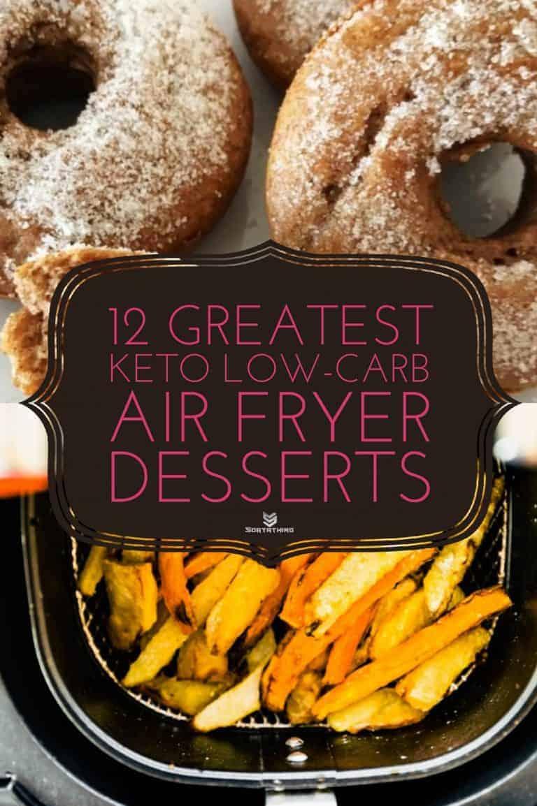Life-Changing Keto Donut Mix & Air Fryer Sweet Potato Dessert Fries