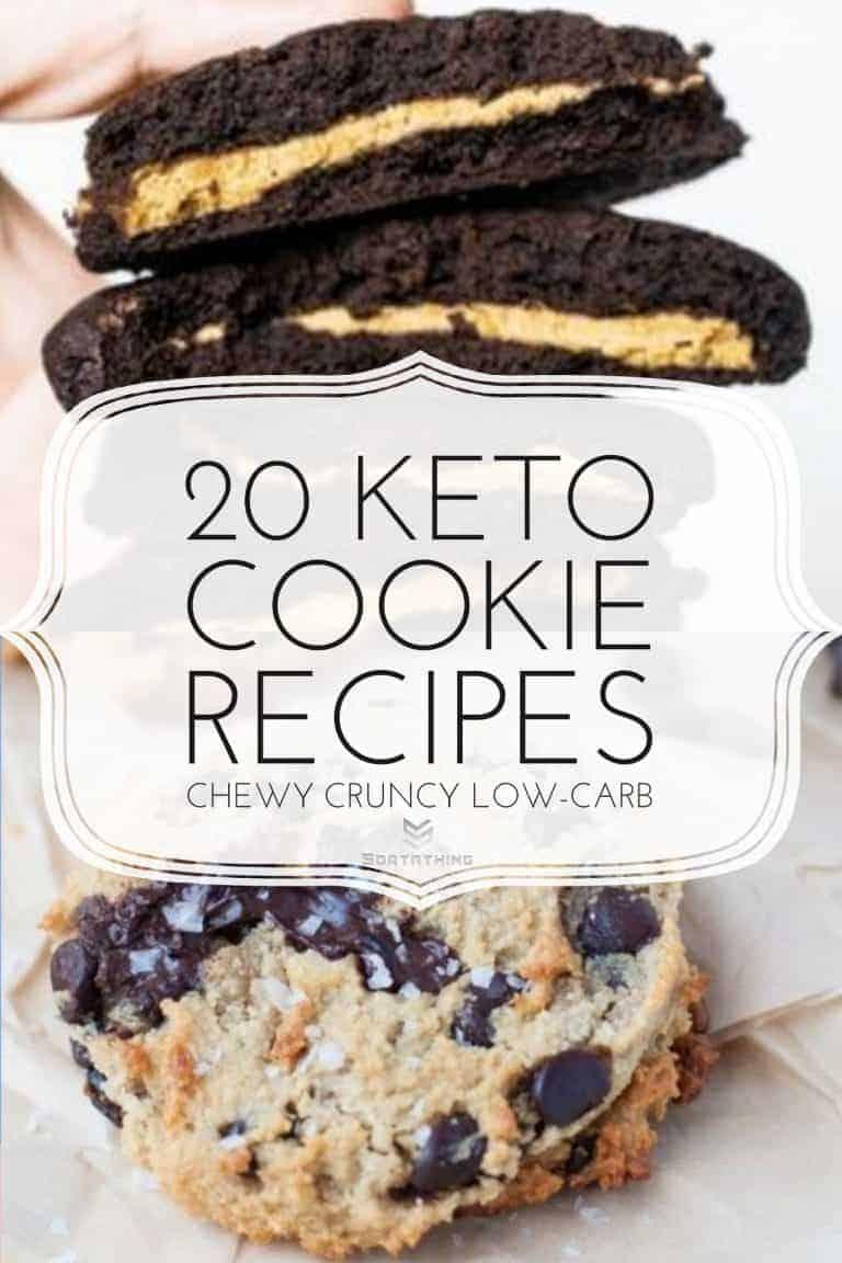 Peanut Butter Brownie Cookies & Keto Salted Caramel Chocolate Chip Cookies