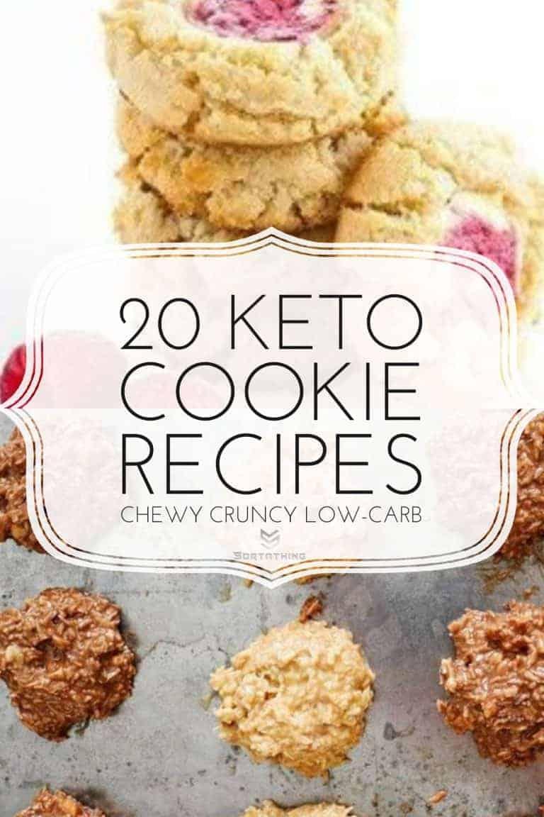 Raspberry Cheesecake Cookies & Keto Approved No-Bake Cookies