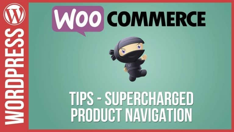 Supercharge your Woocommerce Shopping Navigation