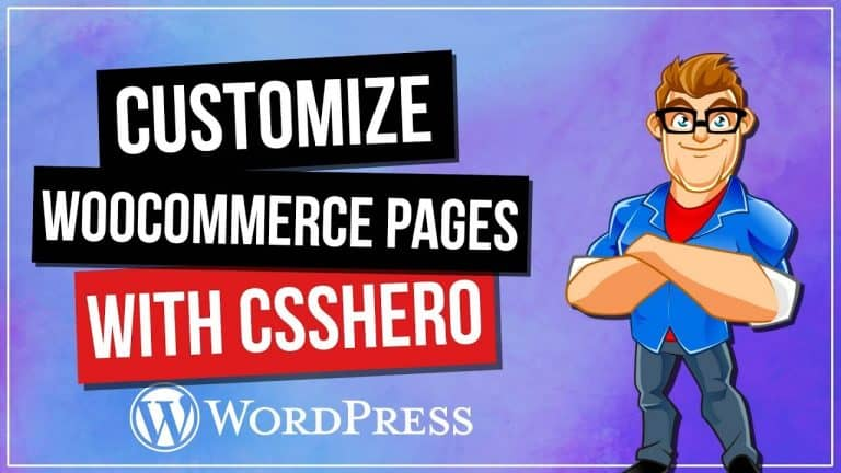 CSSHero: How To Customize WooCommere Pages