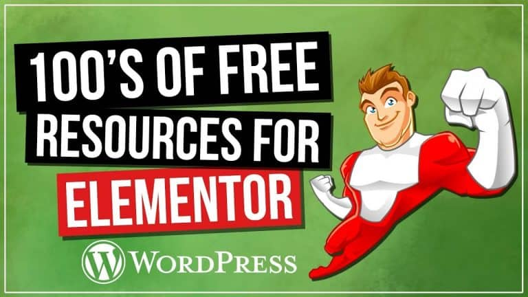 100's FREE Elementor Resources: Templates, Pop-Up Designs, Widgets & More