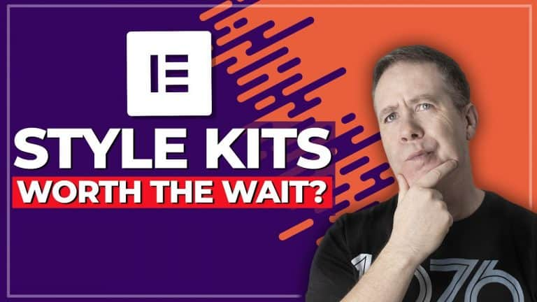 ALL NEW Elementor Style Kits Beta – First Look!