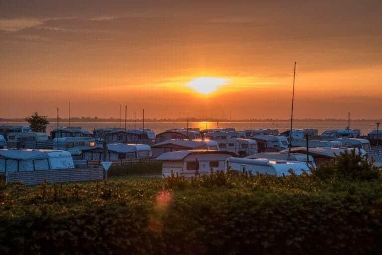 Caravans under the Sunset