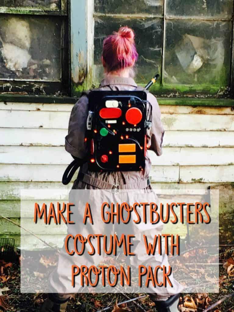 ghostbusters costume diy