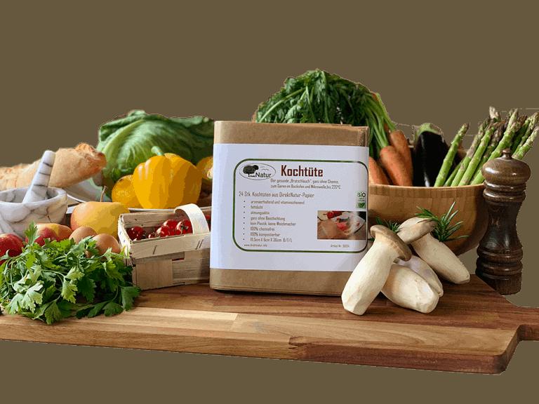 Die bessere Bratschlauch Alternative - die Kochtüte - nachhaltige Produkte