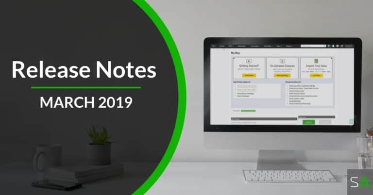 March 2019 Release Notes