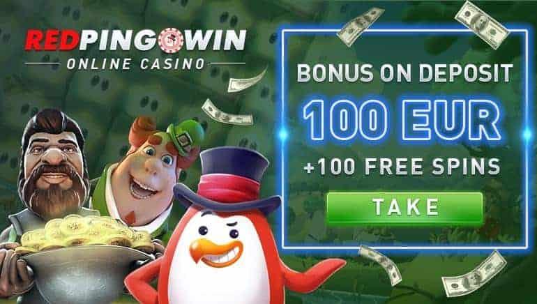 Red Pingwin Casino Bonus