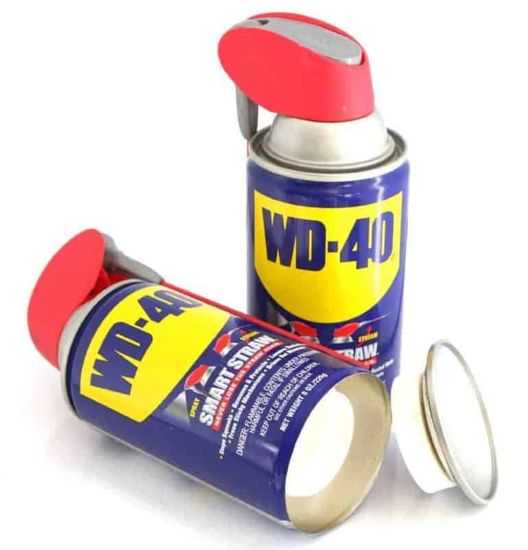 WD-40 secret storage safe