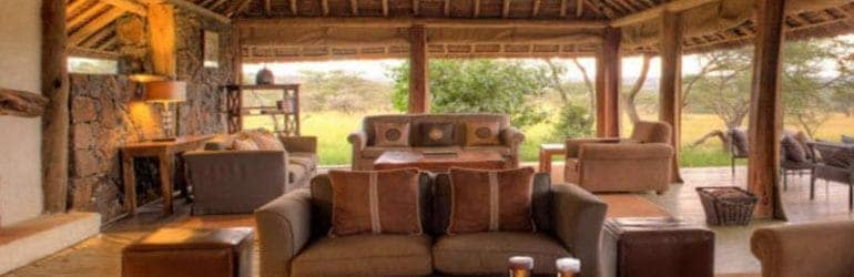 Naboisho Camp Lounge