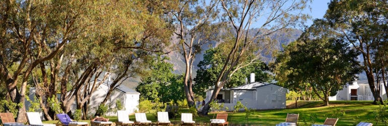 Boschendal Farm Swimming Pool