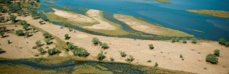 Tsika Island Top View