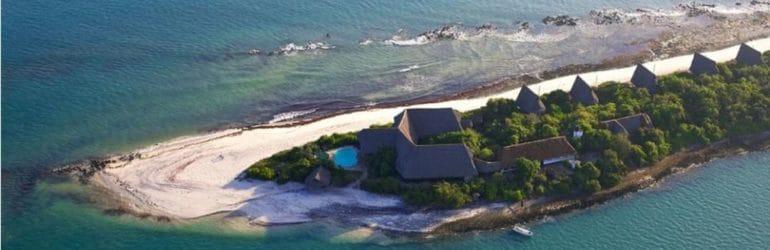 Lazy Lagoon Island Lodge Aerial View