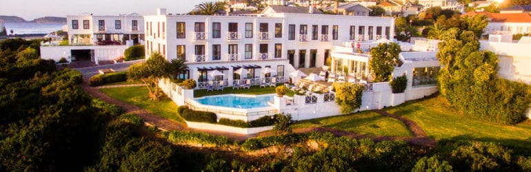 The Plettenberg Aerial View
