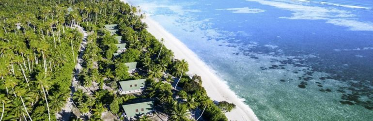 Blue Safari Seychelles Lodge Aerial View