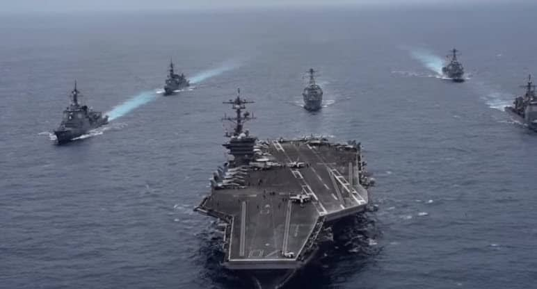 US, Japan Conduct Anti-Submarine Warfare Drill in South China Sea