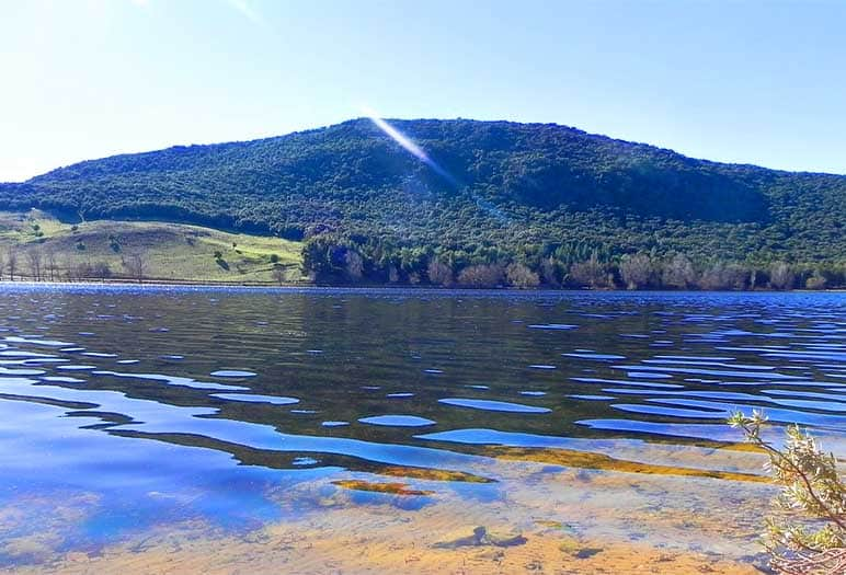 the lake of Dayet Aoua Ifrane the Moroccan fascinate city Ifrane is a Moroccan city located near Fez and Meknes city