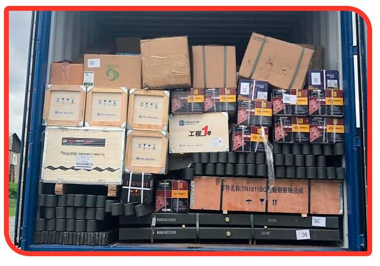 Регулярные поставки запчастей для китайских грузовиков HOWO и Shacman