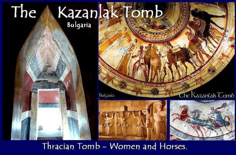Mausoleo Tracio en Kazanlak. tour en Bulgaria en una semana