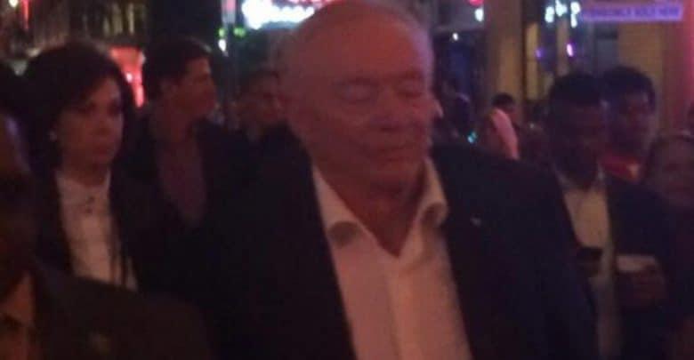 Video Of Jerry Jones Looking Dazed In New Orleans Leaks