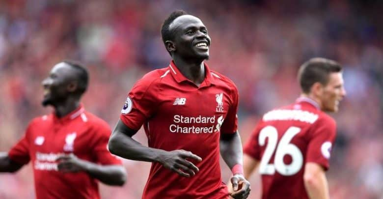 Sadio Mane, Liverpool Win First Premier League Title In 30 Years