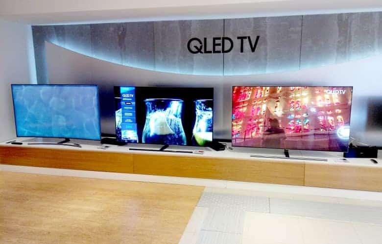 Nueva gama de televisores Samsung 2018 al completo