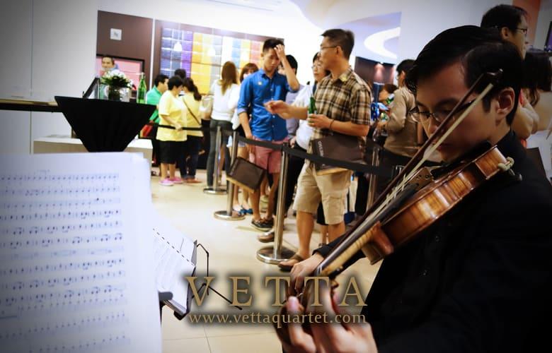 String Quartet for Launch Event