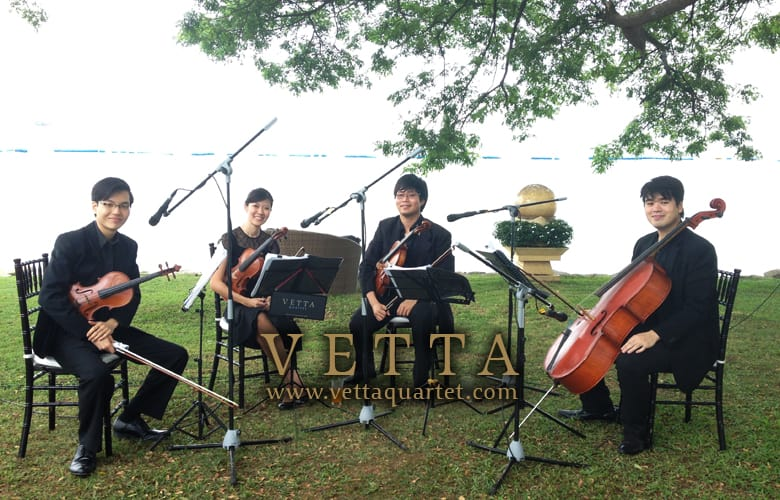 String Quartet for Solemnisation at Shangri-La Rasa Sentosa