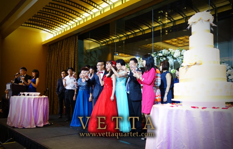 Live Music for Wedding at  Grand Copthorne Waterfront