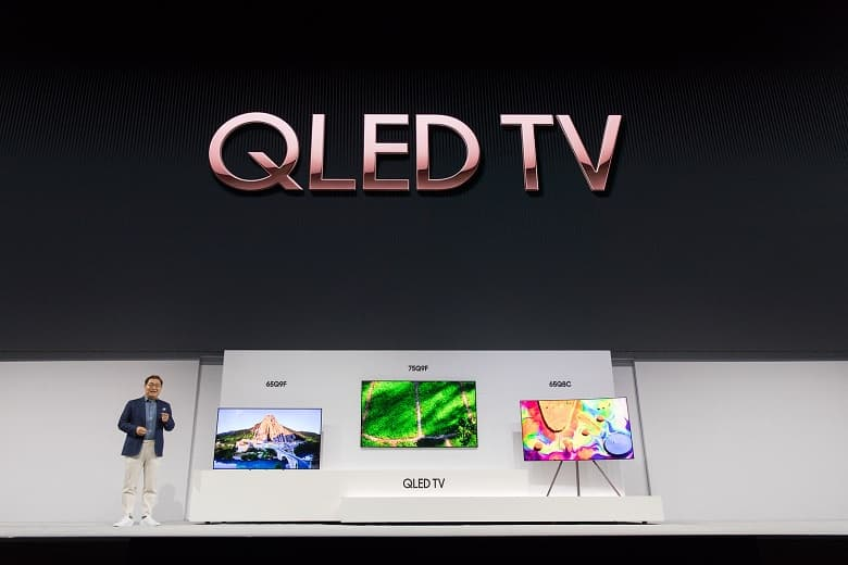 Gama TV Samsung QLED 2018