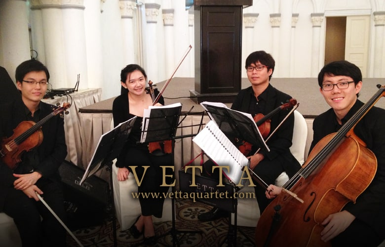 Wedding Music - String quartet CHIJMES