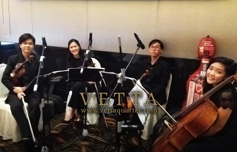 Novotel Singapore - quartet music event