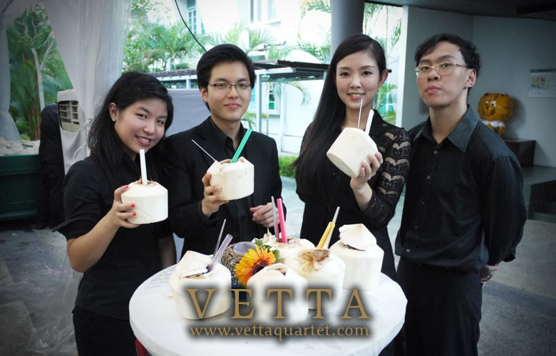 String Quartet Singapore - Corporate Event