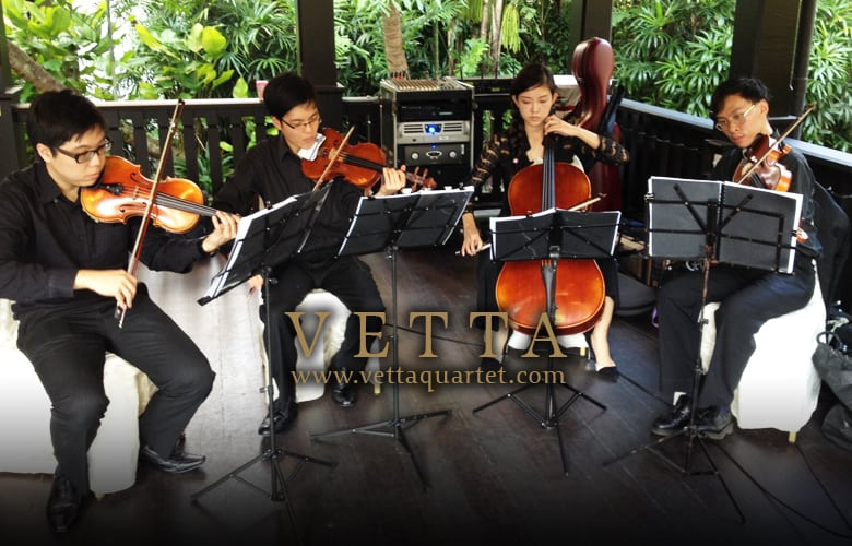 String Quartet Singapore - Raffles Hotel Wedding