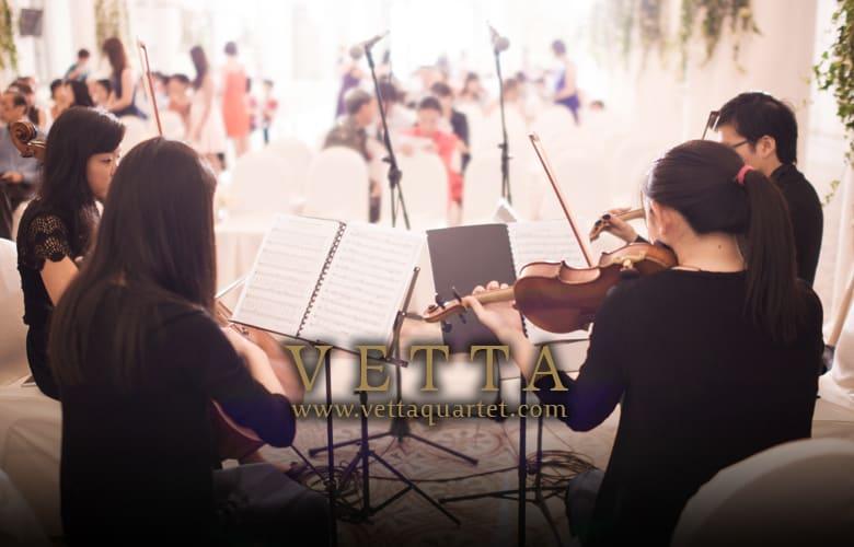 Wedding Singapore - CHIJMES Quartet String