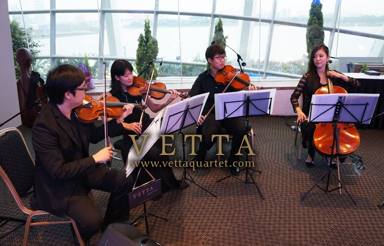 Gardens by the Bay performance - String Quartet