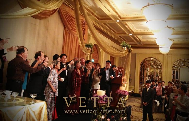 Singapore Quartet - Wedding performance - Four Seasons
