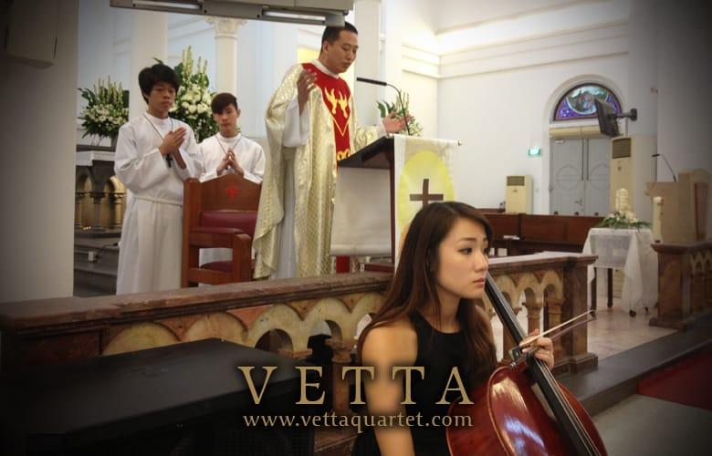 Quartet - Wedding - St Teresa Church - Wedding Singapore