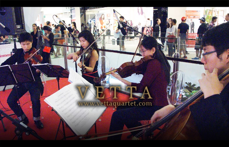 Music Singapore - Christmas at JEM - String Quartet