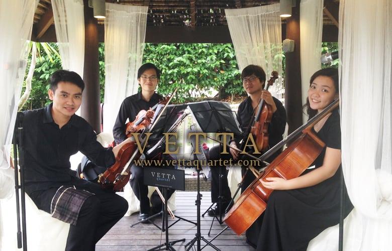 SAF Seaview Resort Wedding - Music Quartet Singapore