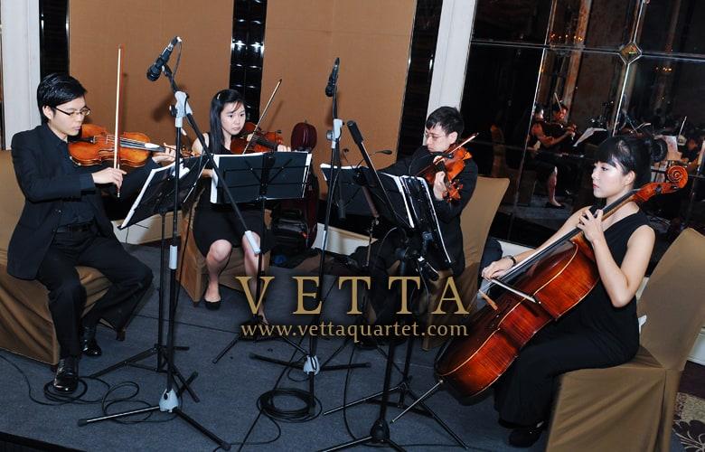 Wedding Music at St Regis Singapore