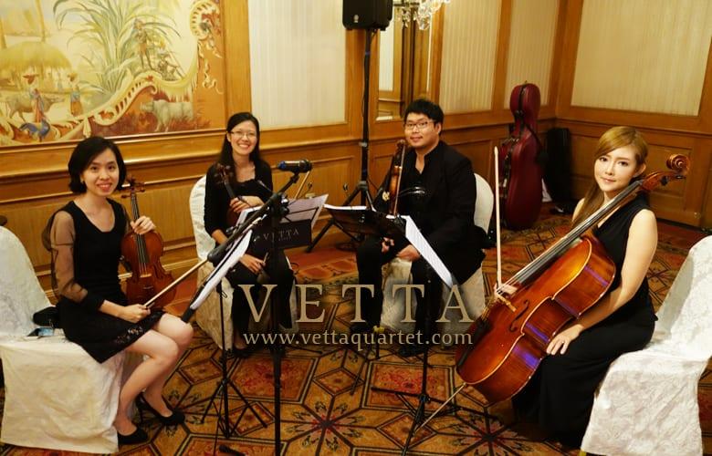 String Quartet at Raffles Hotel