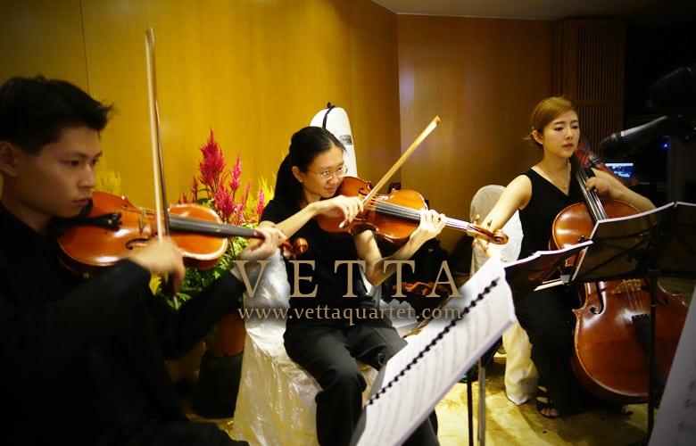 String Quartet for Wedding at Shangri-La Rasa Sentosa
